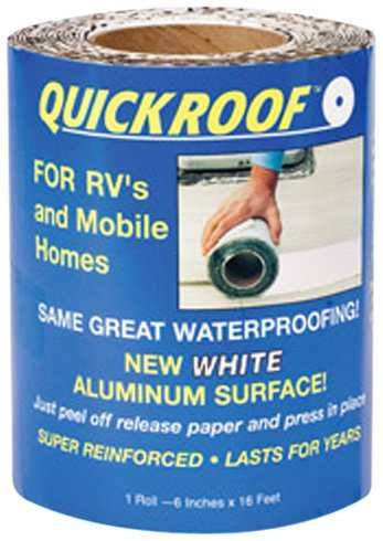 Cofair WQR6 White 6'X35.5' Quick Roof Tape
