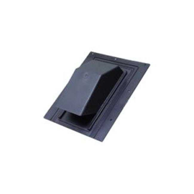 Lambro 3540 3 & 4 in. Black Plastic Roof Cap - Pack of 10