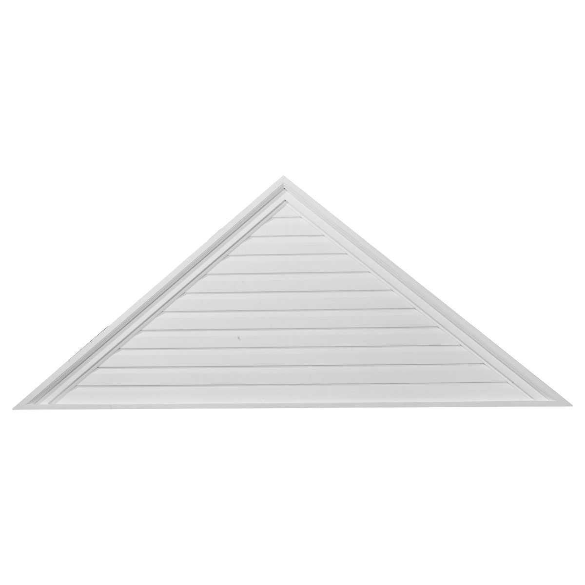 Ekena Millwork GVTR72X18D 72 inch W x 18 inch H x 2. 12 inch P Decorative Accents - Pitch 6 by 12 Triangle Gable Vent