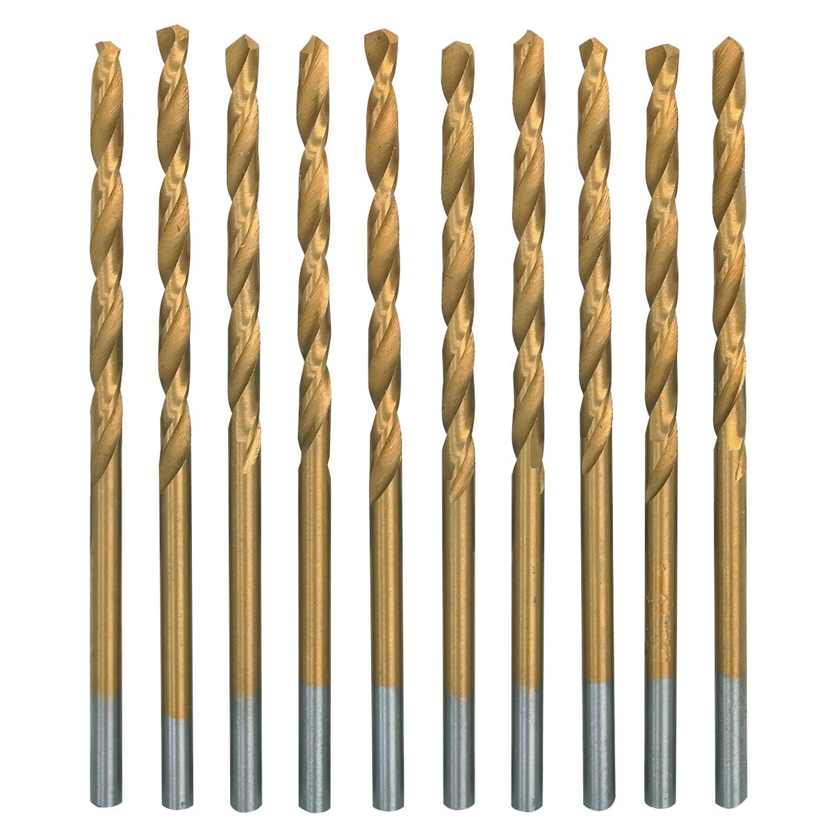 3/32 in. Titanium High Speed Steel Drill Bit Set 7 Pc