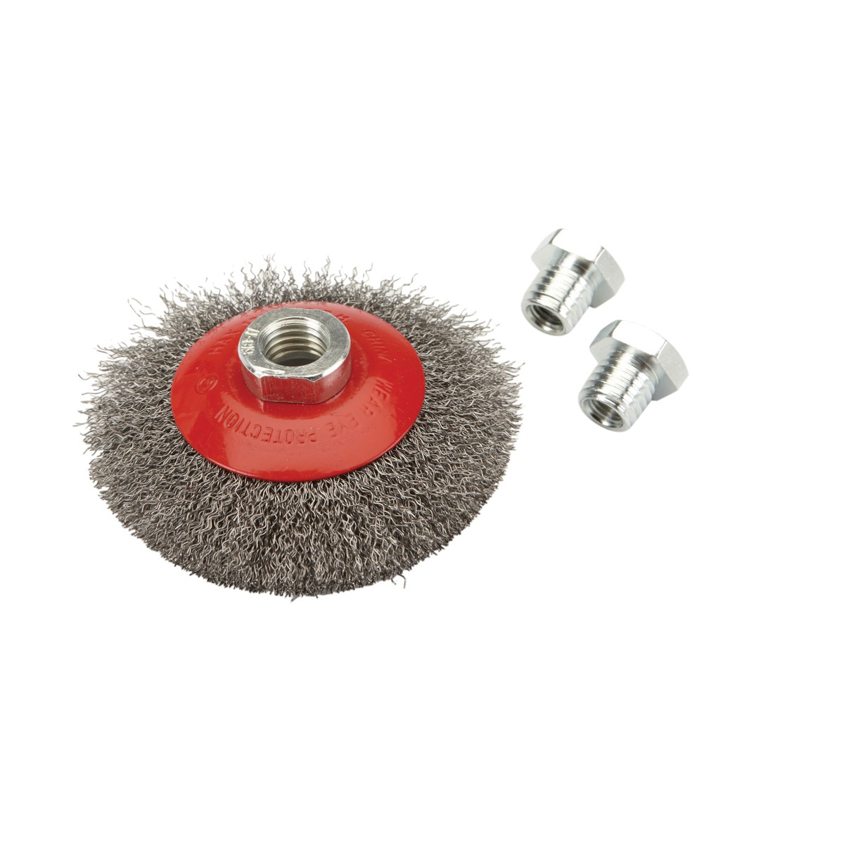4 in. Crimped Beveled Wire Brush