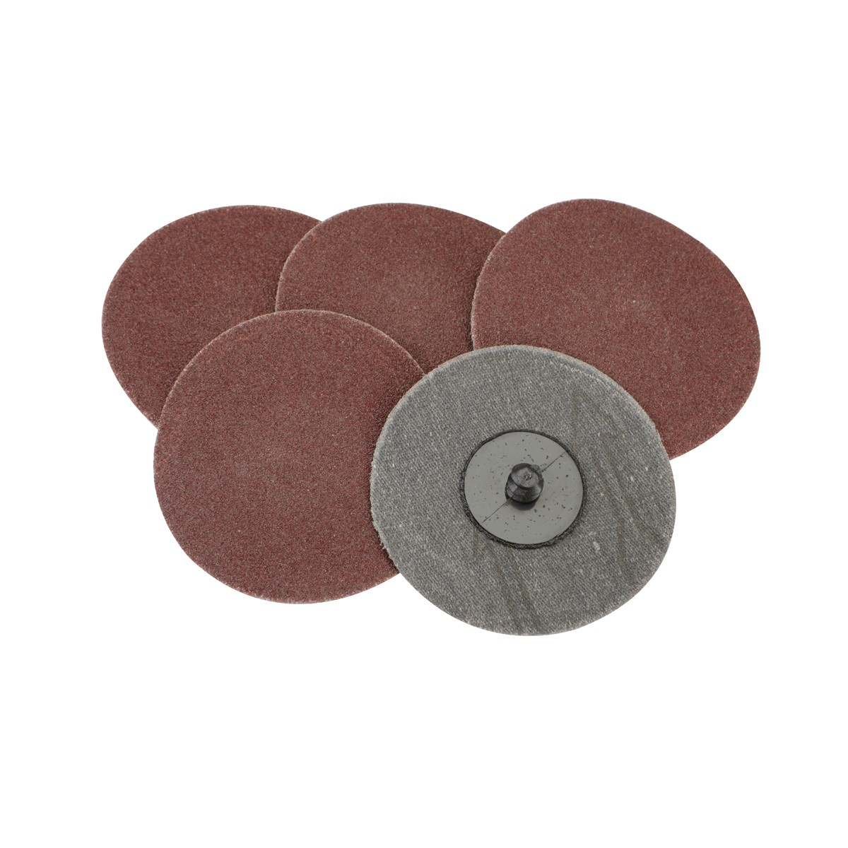 3 in. 100 Grit Twist-Lock Abrasive Discs 5 Pc