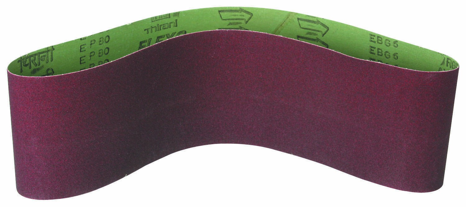 6 in. x 48 in. 80 Grit Sanding Belt 1 Pc