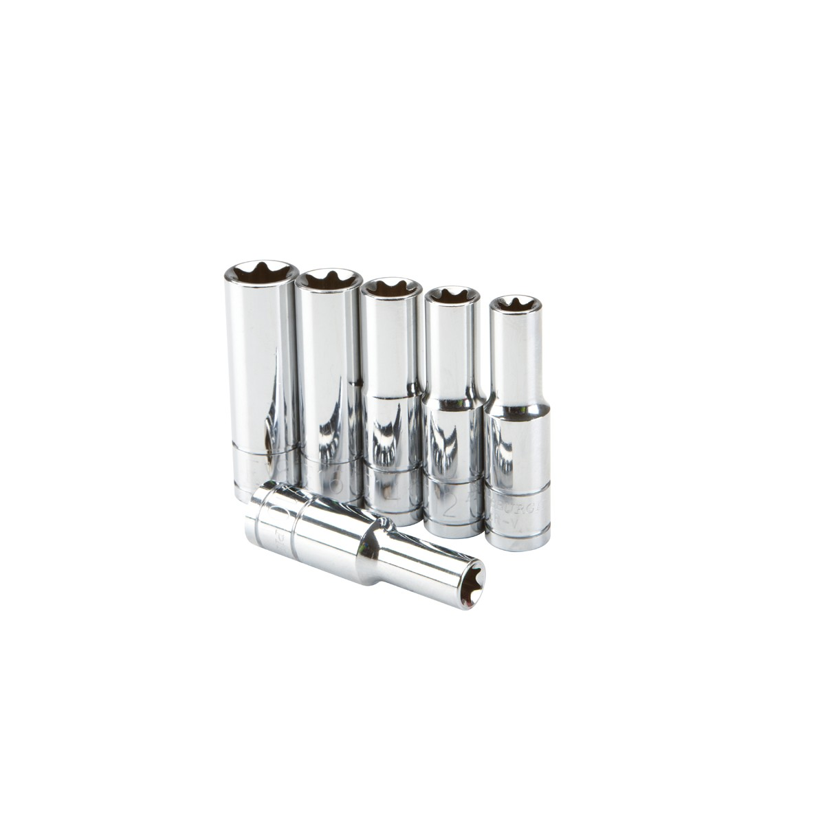6 Pc 3/8 in. Drive E-Socket Set